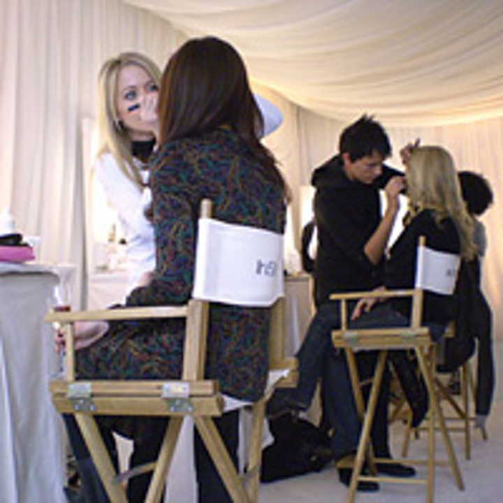 In Style's suite in 2007