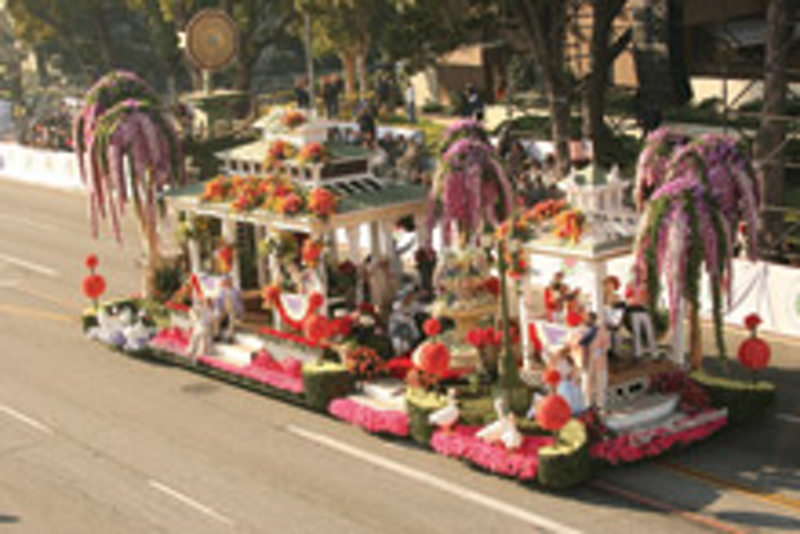 The Tournament of Roses parade