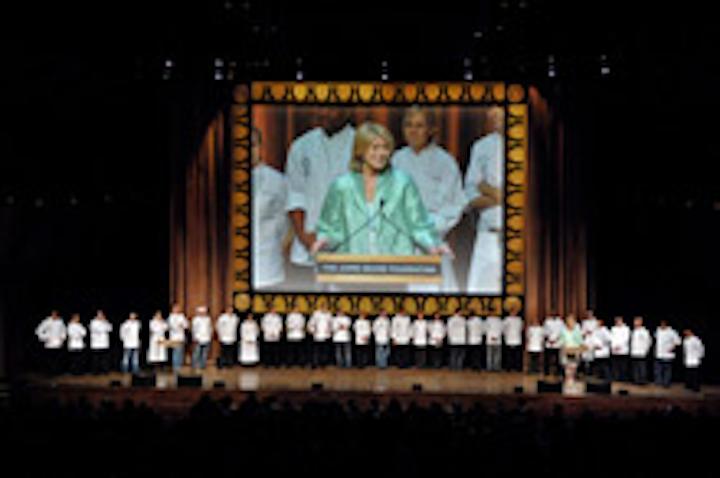Martha Stewart at the 2007 award gala