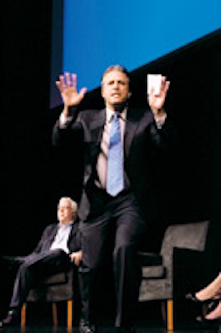 Jon Stewart at a 2005 Magazine Publisers of America event
