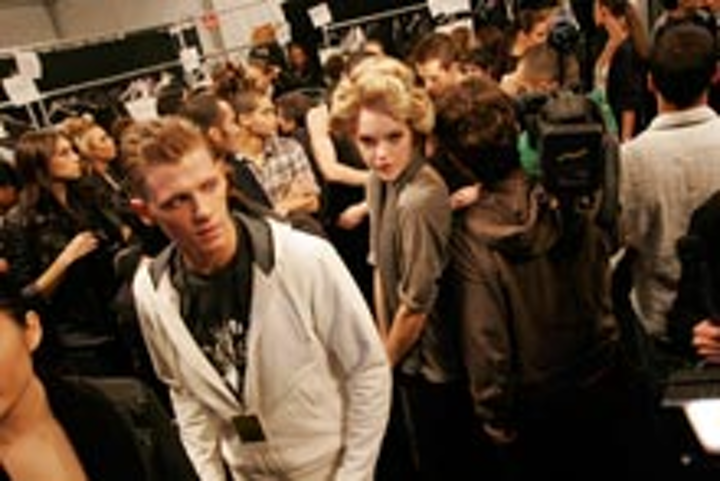 Inside the tents at February's Fashion Week