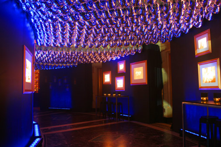 Gotham Hall's balloon ceiling