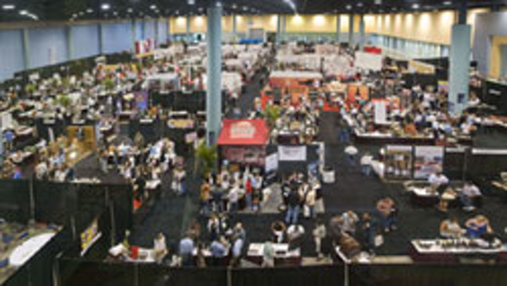 The Miami International Wine Fair featured more than 1,500 wineries on display and was spread across 70,000 square feet.