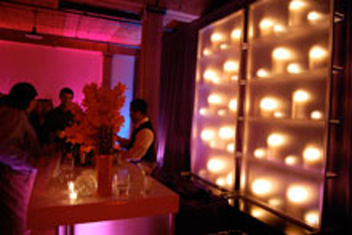 The Sci Fi network's cocktail reception