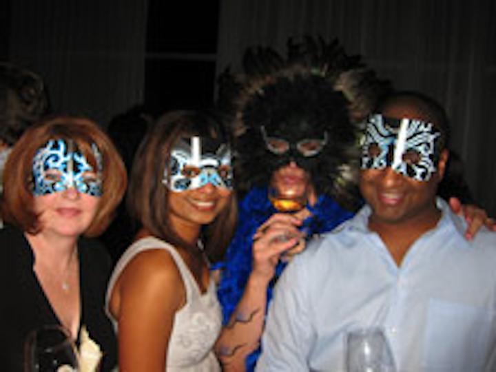Guests at Kim Crawford Wines ' Midnight Masquerade