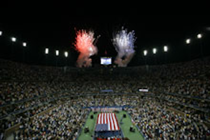 Opening Night at the 2008 US Open