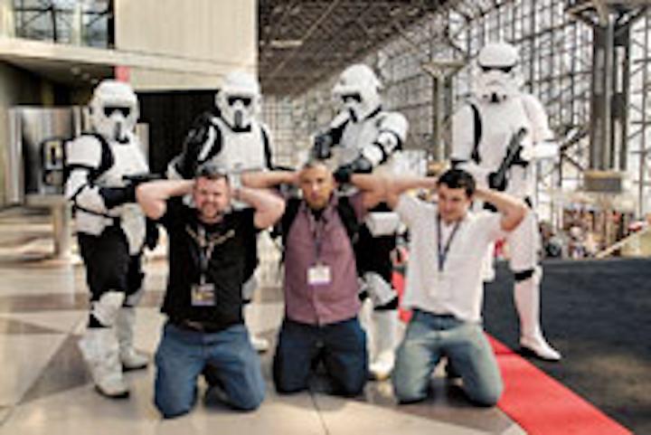 Comic Con at the Javits Center