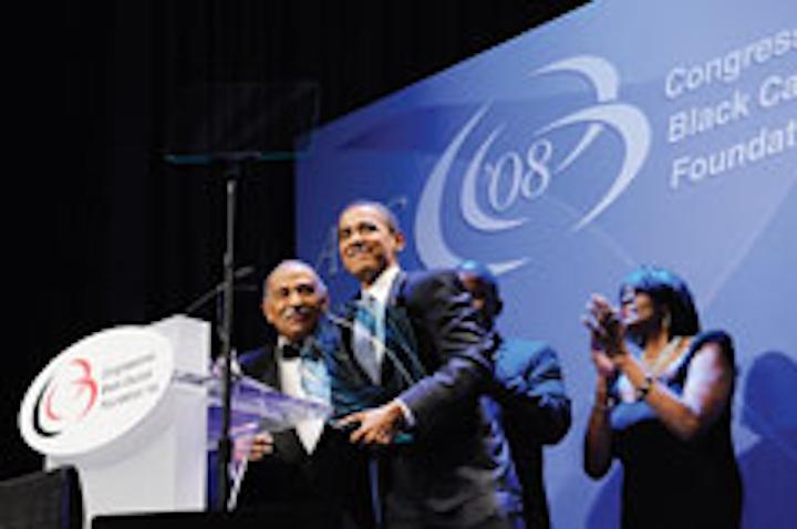Rep. John Conyers Jr. and Barack Obama