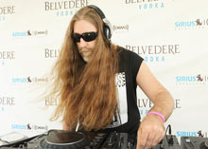 DJ Tommie Sunshine at the Belvedere Vodka lounge at the W South Beach