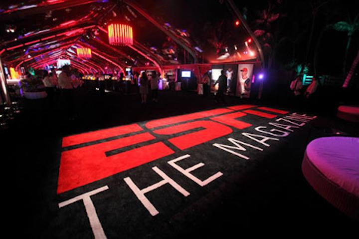 ESPN the Magazine's 2010 Super Bowl party