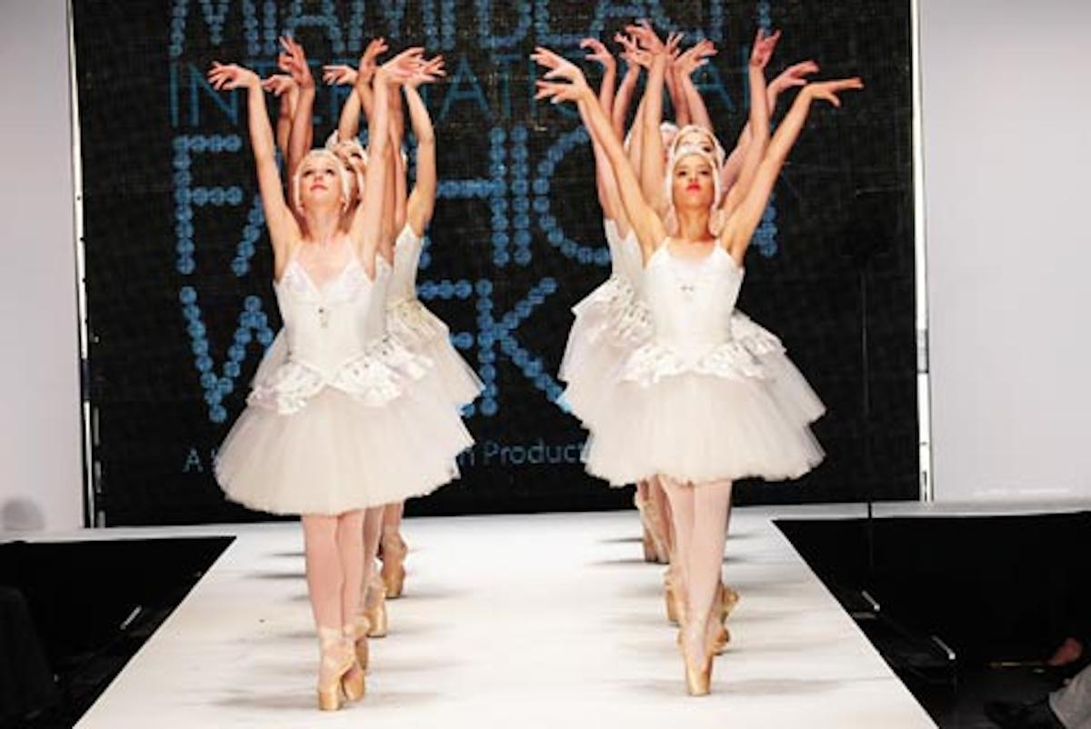 Ballerinas Awards Local Designers Close Out Miami Beach International Fashion Week Bizbash