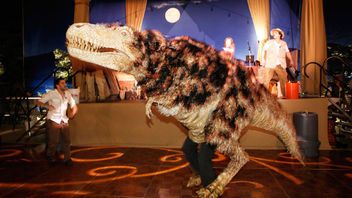 The Natural History Museum of Los Angeles County's Dinosaur Ball will mark the centennial of the museum next spring.