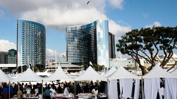 San Diego Bay Wine & Food Festival's last incarnation attracted 9,500 people over the weeklong series of events.