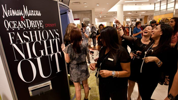 Fashion's Night Out this year featured a series of runway shows, after-hours shopping, musical performances, and cocktail receptions from more than 65 retail participants.