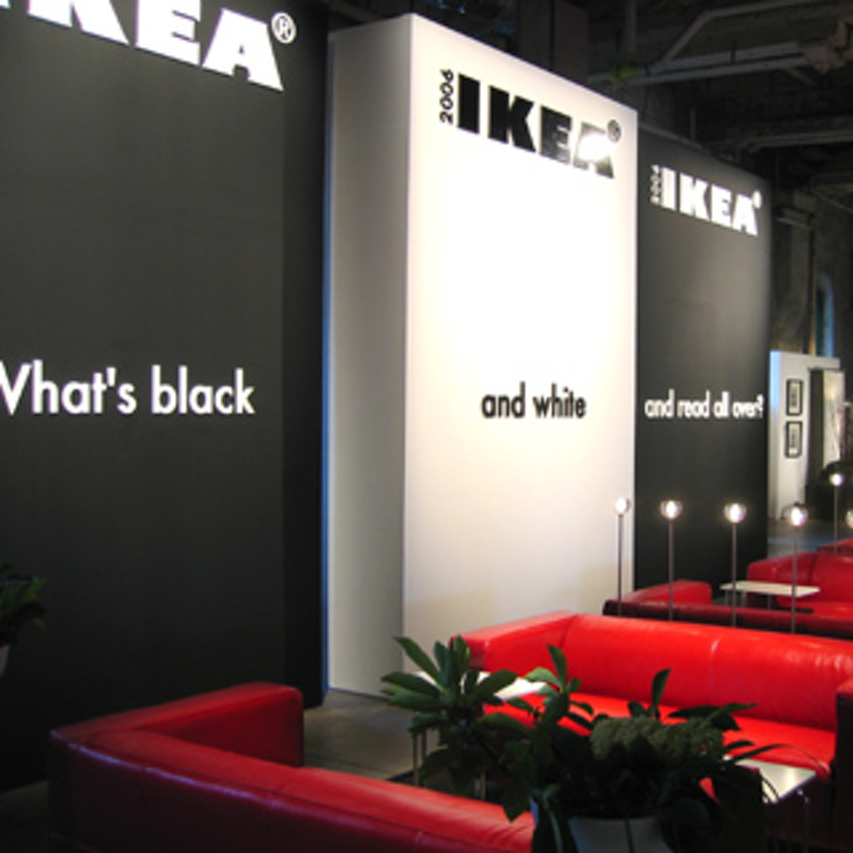 Ikea Launches Catalogue With Black And Red Party Bizbash