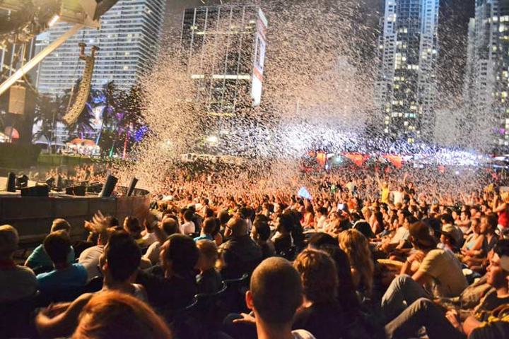 The 14th annual Ultra Music Festival kicked off Wednesday evening with a film screening at Bayfront Park.