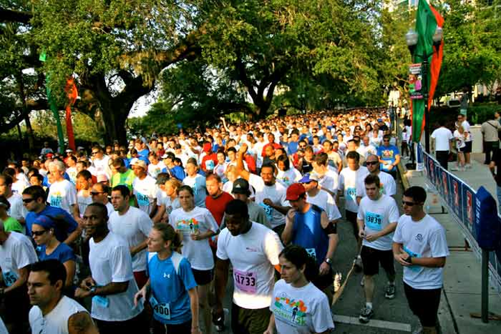 Orlando's Corporate 5K began with about 2,000 participants in 1995. This year organizers expect nearly 16,000 people will run or walk in the event.