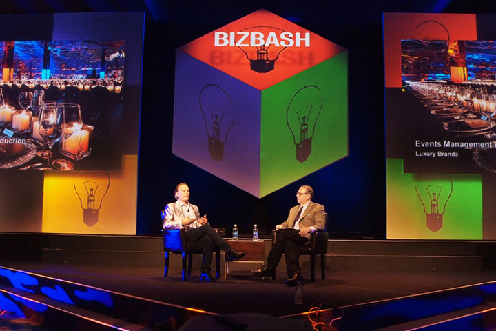 Barton G. Weiss shared how he finds inspiration and creates innovation, from his events business to his hotel and soon-to-launch magazine, at the BizBash Expo & Awards Wednesday.