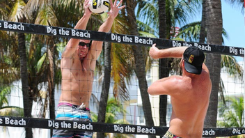 #12 Sports Event This year, Dig the Beach Volleyball Championships went with a new format: eight weekend events around South Florida, culminating with the tour championships in Clearwater. Next: summer 2013