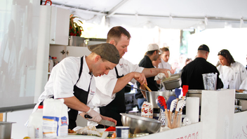 #3 Food & Restaurant Industry Event What started as a local fund-raiser 50 years ago has since grown into an all-things-garlic party, known as the Delray Beach Garlic Festival, with more than 300,000 attendees. Next: February 8-10, 2013