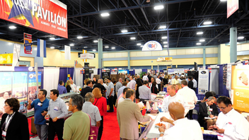 #10 Trade Event, Expo & Convention (up from #11) Last year, America's Food And Beverage Show brought more than 7,000 food manufacturers, wholesalers, and retailers to the Miami Beach Convention Center. Next: September 24-25, 2012
