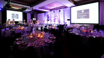 #1 Benefit Last year, the InterContinental Make-a-Wish Ball hosted 900 guests for a Truman Capote-inspired black and white benefit, raising $1.1 million. Next: November 3, 2012