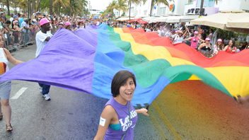 #8 Parade & Festival (new to the list) Now four years old, Miami Beach Gay Pride Parade and Festival draws 35,000 people. Next: April 14, 2013