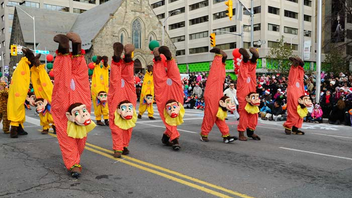#3 Festival & Parade In 2011, the Santa Claus Parade debuted a new route for its 107th year to accommodate even more holiday revelers. Next: November 18, 2012