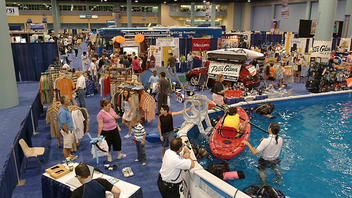 #6 Trade Event, Expo & Convention For this year's outing, NBC Miami/Telemundo51 Health & Fitness Expo moved from April to September, and expects 40,000 people at the Miami Beach Convention Center. Next: September 22-23, 2012
