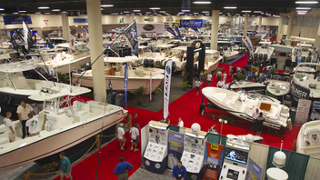 #1 Trade Event, Expo & Convention Covering three million square feet of indoor-outdoor space, the Fort Lauderdale International Boat Show is the largest boat show in the world. Next: October 25-29, 2012