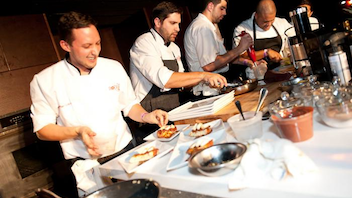 #9 Food & Restaurant Industry Event One of the area's hipper foodie gatherings, the New Times Iron Fork Competition drew 2,000 guests to Ice Palace Film Studios last year. Next: October 2012