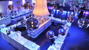 #5 Benefit In 2011, the Design Exchange Black and White Gala had decor inspired by honourees Karim Rashid, Hani Rashid, and Lise Ann Couture and drew more than 1,000 guests. Next: fall 2012