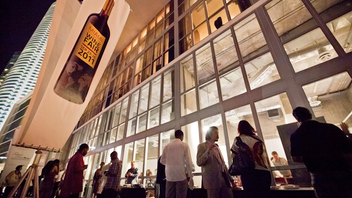 #2 Food & Restaurant Industry Event In 2011, the Miami International Wine Fair shifted its focus, catering exclusively to wine industry professionals and growing to 70,000 square feet of exhibit space. Next: February 15-16, 2013
