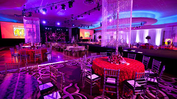 #3 Benefit This fall the Best Buddies Gala's 16th outing will have a Russian theme. Rob Lowe, Cindy Crawford, and Tom Brady have been among the 800-odd guests at past galas. Next: November 16, 2012
