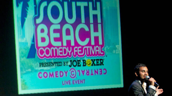 #9 Parade & Festival Presented by Comedy Central, South Beach Comedy Festival featured TV names like Aziz Ansari, Lewis Black, and Donald Glover in 2012. Next: winter 2013