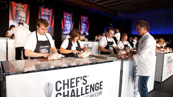 #10 Food, Wine & Hospitality Industry Event (new to the list) Hosted by Bobby Flay this year, Chef's Challenge raised $1.2 million and moved to a larger venue, the Metro Toronto Convention Centre, in just its second year. Next: November 2012