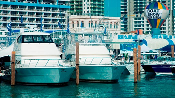#3 Trade Event, Expo & Convention Although not quite the behemoth that the Fort Lauderdale show is, Miami International Boat Show and Strictly Sail still surpassed 100,000 visitors this year. Next: February 14-18, 2013