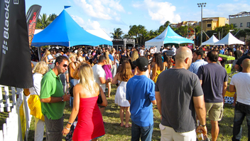 #4 Food & Restaurant Industry Event This year, the Taste of the Grove Food & Wine Festival brought in a new production team and doubled in size, bringing 50,000 foodies to Coconut Grove to sample bites from dozens of the area's best restaurants, with local dignitaries serving as judges and naming the best dishes. Next: spring 2013