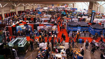 #5 Trade Show & Convention This year, the 65th year of the Toronto Sportsmen's Show, had more than 450 exhibitors lining the Metro Toronto Convention Centre. Next: February 7-10, 2013