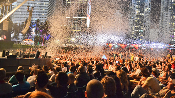 #2 Music, Theatre & Dance Event With more than 200,000 attendees, this year Ultra Music Fest outgrew Bicentennial Park and relocated to Bayfront Park. Next: March 22-24, 2013