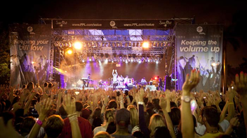 #4 Music, Theatre & Dance Event (up from #5) Founded in 1982, Sunfest attracted more than 270,000 visitors to West Palm Beach for acts like Snoop Dogg and Third Eye Blind in 2012. Next: May 1-5, 2013