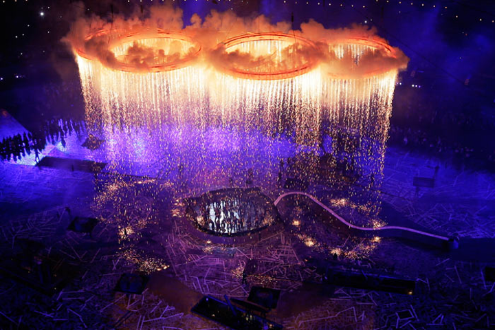 While the overall set design and direction received mixed reactions, producers mostly agreed the Olympic opening ceremony's pyrotechnics provided stunning visuals. According to one reviewer, 'we saw something totally new in terms of the integration of pyrotechnics, LED, lighting, automation, and a live performance.'