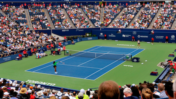 #4 Sports Event This year's Rogers Cup will have men take the tennis courts in Toronto, while the women play in Montreal. Next: August 4-13, 2012