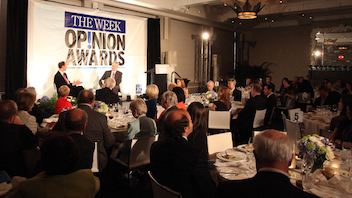 #4 Literary & Publishing Event The Week's Opinion Awards recognize the nation's best opinion journalists and this year drew honorees and guests to a dinner at the W Hotel, where host David Gregory of NBC used his Meet the Press skills to interview Obama official Austan Goolsbee and Senator Lindsey Graham. Next: November 2012
