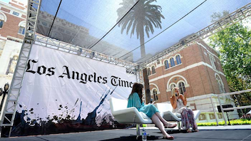 #4 Festival & Fair The Los Angeles Times Festival of Books's 17th annual event took over the University of Southern California. After a move last year from that university's cross-town rival, U.C.L.A., the event packed in more than 100,000 attendees. Next: April 20-21, 2013