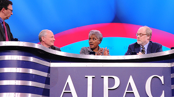 #5 Political & Press Event The annual AIPAC Policy Conference featured speeches from President Obama as well as Israeli Prime Minister Benjamin Netanyahu. The event, which drew some 13,000 attendees, is the largest gathering of the pro-Israel movement. Next: March 3-5, 2013