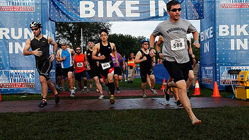 #6 Sports Event Acquired by Competitor Group in February, the triathlon expects to continue its streak of sell-outs dating from 2007. Next: September 9, 2012