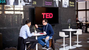 #1 Trade Show & Convention The TED Conference at the Long Beach Performing Arts Center (simulcast in Palm Springs), sells out a year in advance and draws more than 1,000 people (who qualify for attendance with memberships starting in the thousands of dollars). The big thinkers come for content that—in addition to the conference's namesake categories technology, entertainment, and design—now covers the categories of science, business, the arts, and global issues. Over four days, 50 speakers each take an 18-minute slot, and shorter presentations also include musical and comedy performances. Next: February 25-March 1, 2013