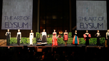#17 Benefit Art of Elysium's Heaven gala is held annually on Golden Globes weekend and this year took over downtown's historic Union Station. Next year designer Colleen Atwood will be presented with the Visionary honor. Next: January 12, 2013