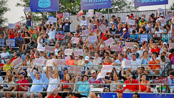 #5 Sports Event Venus and Serena Williams again highlighted the World TeamTennis event, which drew fans including Michelle, Sasha, and Malia Obama. Next: July 2013